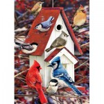 Cobble-Hill-80122 Greg Giordano -  Winter Birdhouse