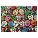 Cobble-Hill-80144 Sugar Skull Cookies