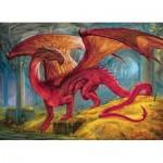Cobble-Hill-80250 Red Dragon's Treasure