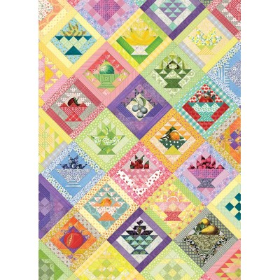 Cobble-Hill-80267 Fruit Basket Quilt