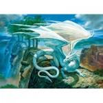 Cobble-Hill-85071 Pièces XXL - White Dragon