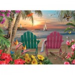 Cobble-Hill-85077 Pièces XXL - Island Paradise