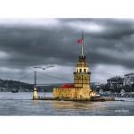 Perre-Anatolian-3167 Turquie : La Tour de la Jeune Fille (Kizkulesi)