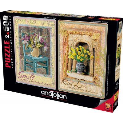 Perre-Anatolian-3610 2 Puzzles - Smile - Real Love