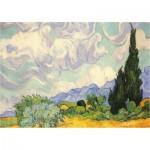 Piatnik-5391 Van Gogh Vincent : Les Blés Jaunes