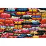 Piatnik-5487 Parapluies Colorés