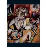 Piatnik-5496 Marc Chagall - Autoportrait à Sept Doigts