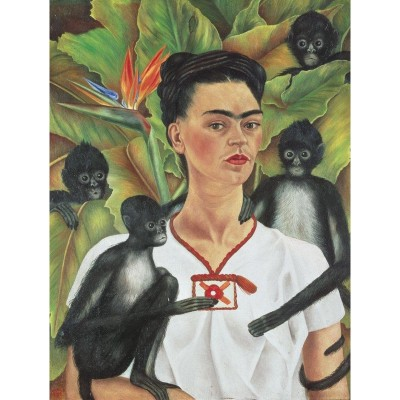 Piatnik-5509 Frida Kahlo - Autoportrait