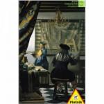 Piatnik-5640 Vermeer : Le peintre et son modèle