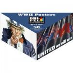 Pigment-and-Hue-DBLWWII-00902 Puzzle Double Face - Affiches de la Seconde Guerre Mondiale