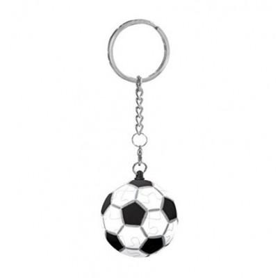 Pintoo-A1366 Porte-clé Puzzle 3D - Football