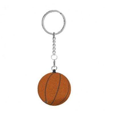 Pintoo-A1367 Porte-clé Puzzle 3D - Balle de Basket