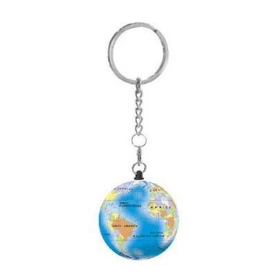 Pintoo-A2901 Porte-clé Puzzle 3D - Globe