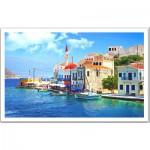Pintoo-H1240 Puzzle en Plastique - Grèce, La belle baie