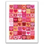 Pintoo-H1403 Puzzle en Plastique - Love