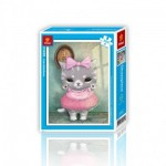 Pintoo-H1499 Puzzle en Plastique - Cute Little Mumu