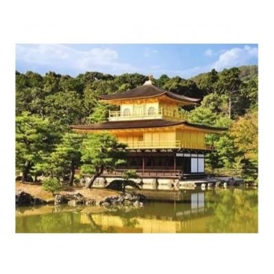 Pintoo-H1532 Puzzle en Plastique - A Temple in Kyoto, Japan
