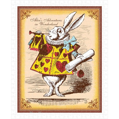 Pintoo-H1544 Puzzle en Plastique - Alice's Adventures in Wonderland