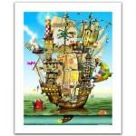 Pintoo-H1559 Puzzle en Plastique - Colin Thompson - Norah's Castle