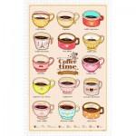 Pintoo-H1593 Puzzle en Plastique - Cafe Life