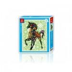 Pintoo-H1595 Puzzle en Plastique - Cheval