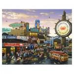 Pintoo-H1641 Puzzle en Plastique - San Francisco