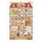 Pintoo-H1643 Puzzle en Plastique - Sweet Home