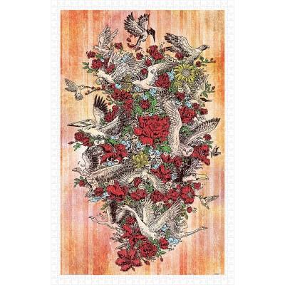 Pintoo-H1676 Puzzle en Plastique - Blooming Flight