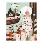 Pintoo-H1704 Puzzle en Plastique - Nan Jun - Lighthouse