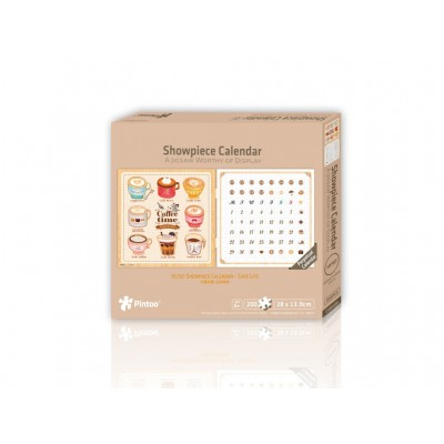 Pintoo-H1707 Calendrier Showpiece - Coffee Time