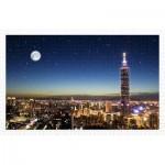Pintoo-H1719 Puzzle en Plastique - Taipei Skyline