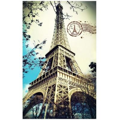 Pintoo-H1756 Puzzle en Plastique - Tour Eiffel, France