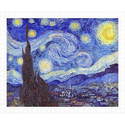Pintoo-H1758 Puzzle en Plastique - Vincent Van Gogh - The Starry Night, June 1889