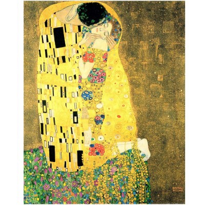 Pintoo-H1765 Puzzle en Plastique - Klimt Gustav - The Kiss