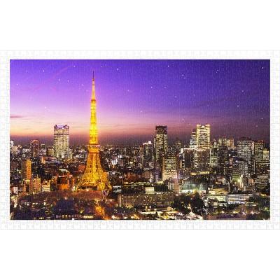Pintoo-H1769 Puzzle en Plastique - Tokyo Tower, Japan