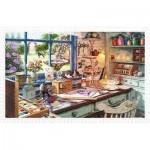 Pintoo-H1796 Puzzle en Plastique - Atelier de Grand-Mère