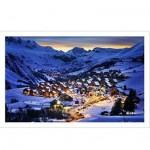 Pintoo-H1797 Puzzle en Plastique - Alpes Françaises