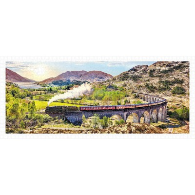 Pintoo-H1917 Puzzle en Plastique - The Jacobite Steam Train, Scotland
