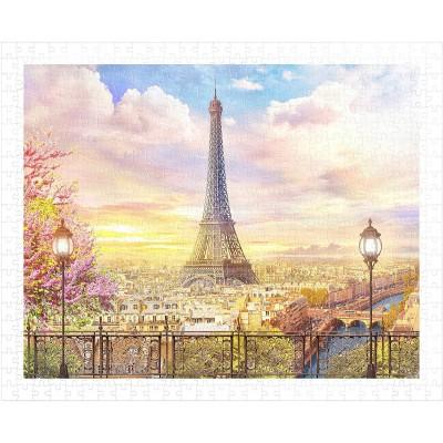 Pintoo-H1936 Puzzle en Plastique - Romantic Paris