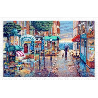 Pintoo-H1985 Puzzle en Plastique - John O'Brien - Rainy Day Stroll
