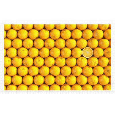 Pintoo-H1992 Puzzle en Plastique - Fruits - Orange