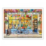 Pintoo-H1994 Puzzle en Plastique - Garry Walton - Greatest Bookshop In The World