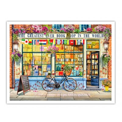 Pintoo-H1994 Puzzle en Plastique - Garry Walton - Greatest Bookshop In The World
