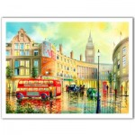 Pintoo-H1996 Puzzle en Plastique - Ken Shotwell - Morning in London