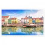 Pintoo-H2046 Puzzle en Plastique - Old Nyhavn Port in Copenhagen