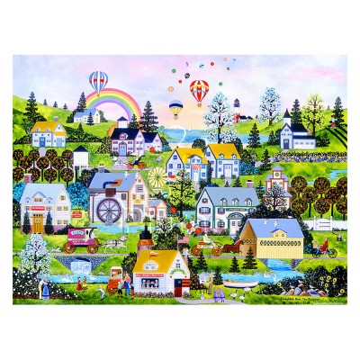 Pintoo-H2069 Puzzle en Plastique - Jane Wooster Scott - Somewhere Over the Rainbow