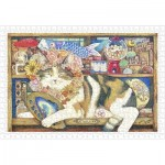 Pintoo-H2212 Cotton Lion - Cat Artist