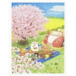 Pintoo-H2221 ちっぷ - Cherry Blossom Picnic Day