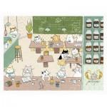 Pintoo-H2242 Ms. Cat - Philosopher Cafe