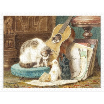 Pintoo-H2258 Henriette Ronner - The Harmonists